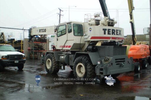 terex rt 230 service manual