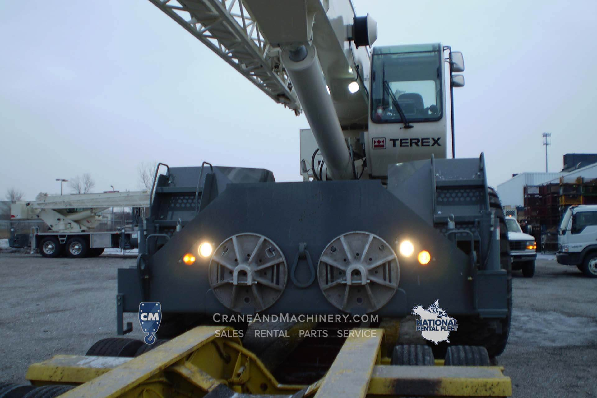 2001 Terex Rt555 Crane And Machinery Chicago Il