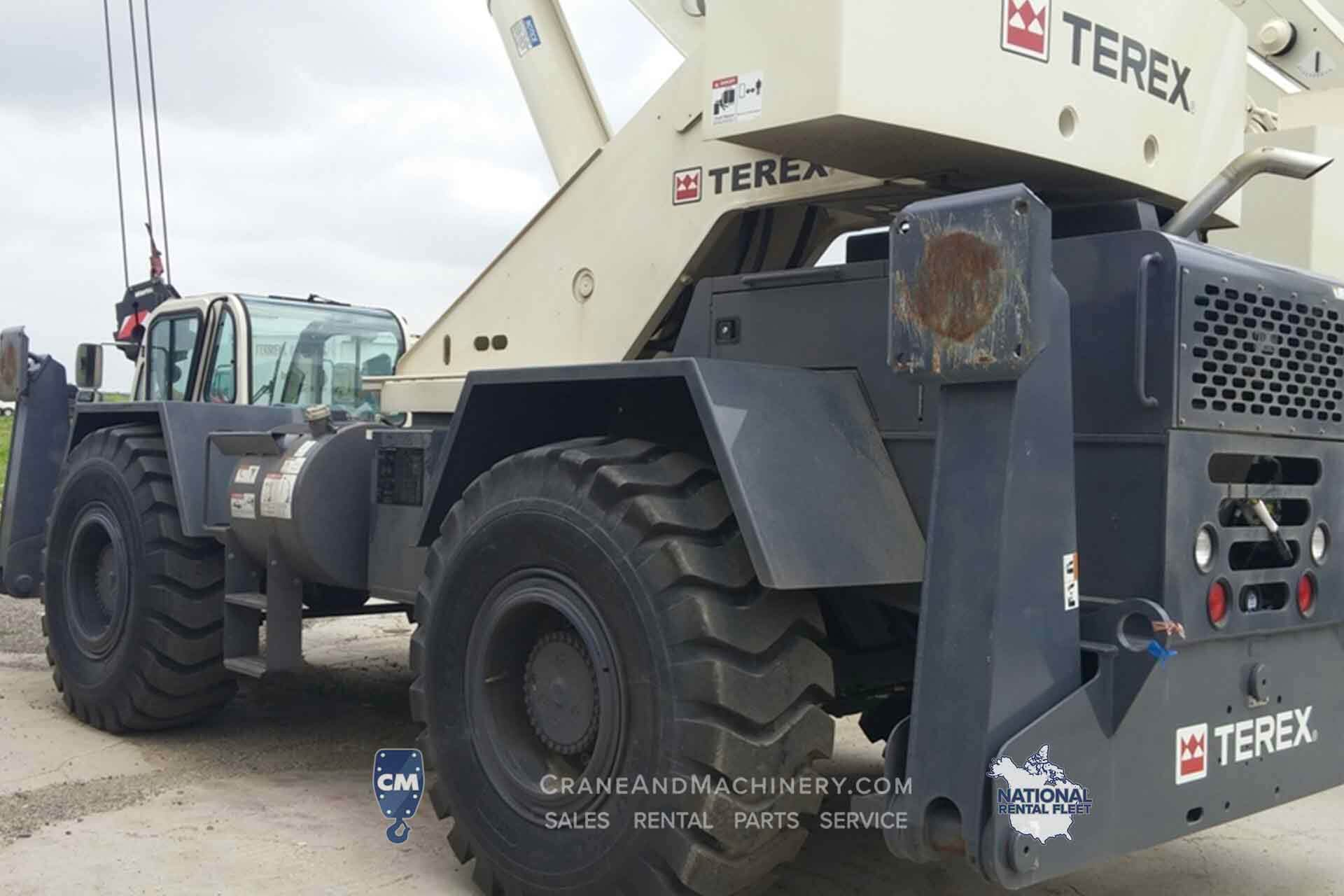 Terex CD225 - Terex RT Crane rentals for Chicago, and North America. Long term and short term rentals available. Purchase new or used Terex RT cranes at Crane & Machinery