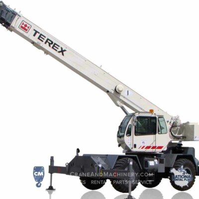 New 2017 RT130 from Terex. Crane & Machinery is the Chicagoland Terex Dealer with RT Crane rentals available throughout North America. Call for details.